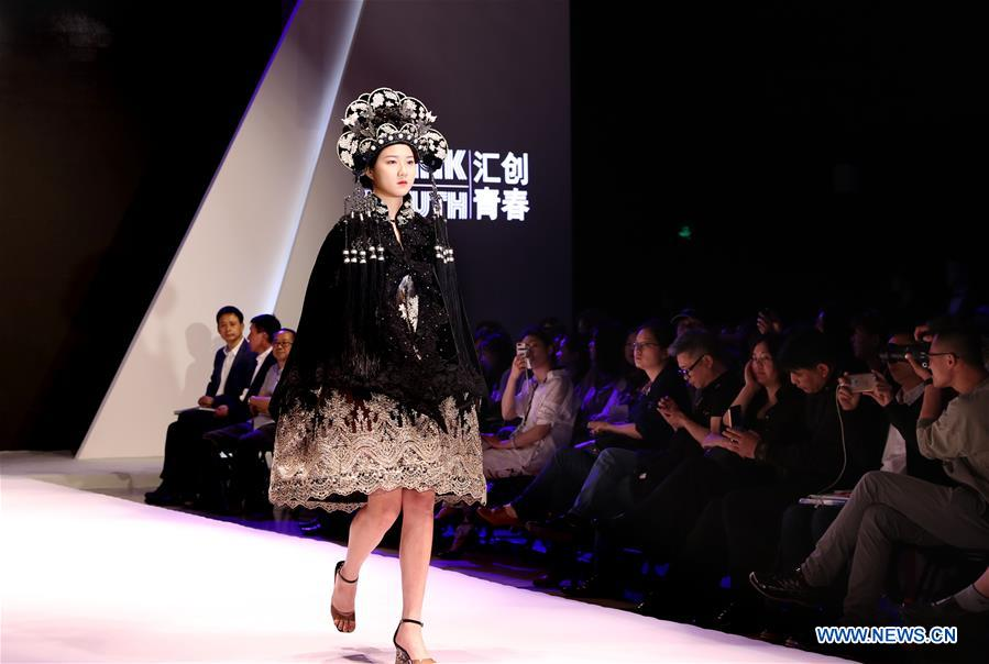 Fashion Design Contest For College Students Held In Shanghai Xinhua English News Cn
