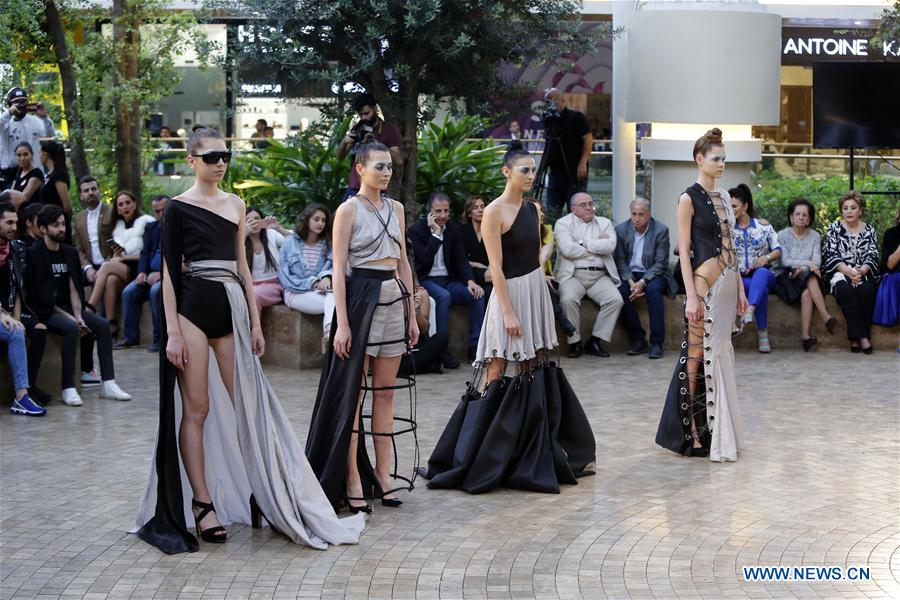 Creations Presented During Beirut Young Fashion Designers Competition Xinhua English News Cn
