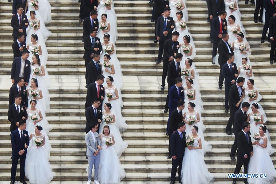 Group Wedding Ceremony Held In Hangzhou East China Xinhua