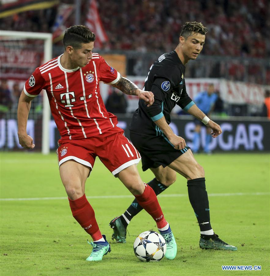 Real beat hosts Bayern 2-1 in UEFA Champions League semifinal ...