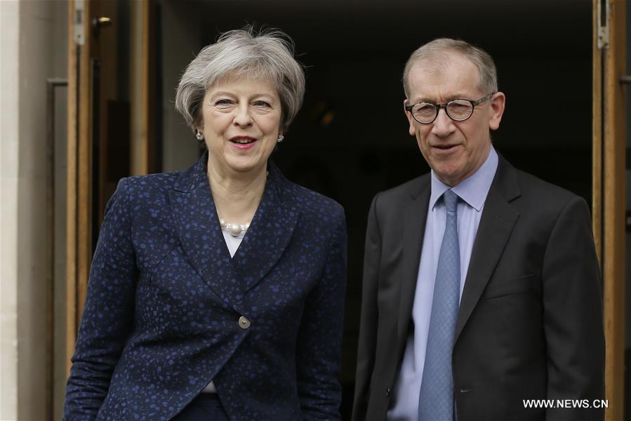 BRITAIN-LONDON-LOCAL COUNCIL ELECTIONS-THERESA MAY
