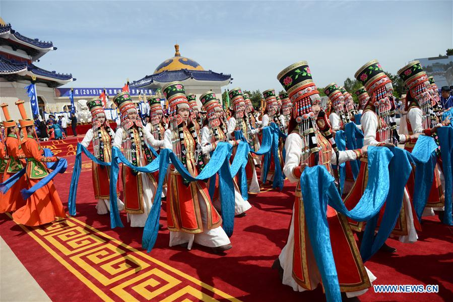 CHINA-INNER MONGOLIA-GENGHIS KHAN-MEMORIAL RITUAL (CN)