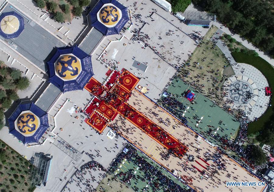 CHINA-INNER MONGOLIA-GENGHIS KHAN-MEMORIAL RITUAL (CN)