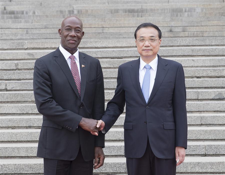 CHINA-BEIJING-LI KEQIANG-TRINIDAD AND TOBAGO-TALKS (CN)