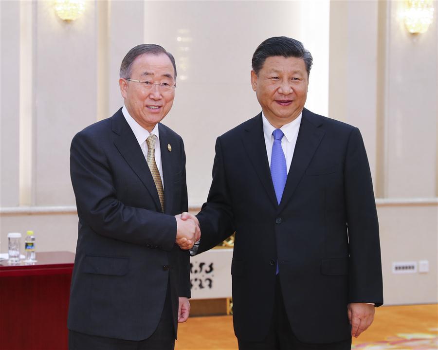 CHINA-BEIJING-XI JINPING-BFA CHAIRMAN-MEETING (CN)