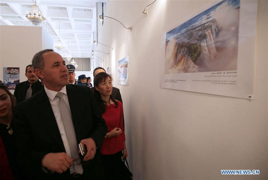 ALGERIA-ALGIERS-CHINA-BELT AND ROAD INITIATIVE-EXHIBITION