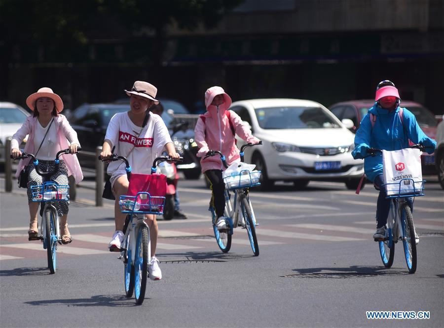 #CHINA-JIANGSU-WEATHER-HEAT (CN)