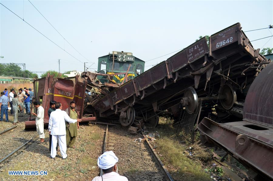 Two Trains Derailed After Collision In Pakistan S Lahore Xinhua