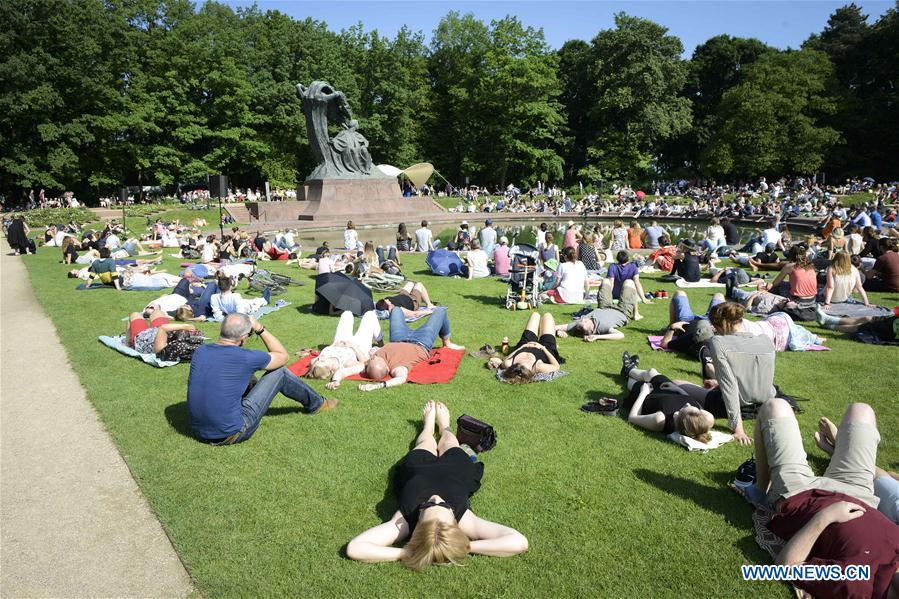 Chopin Open Air Concert Held At Royal Lazienki Park In