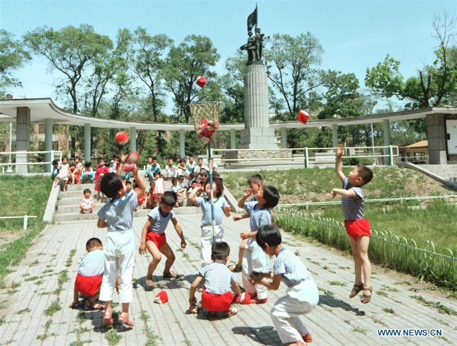 (永不停息)中国 - 国际儿童日娱乐演化(中国)