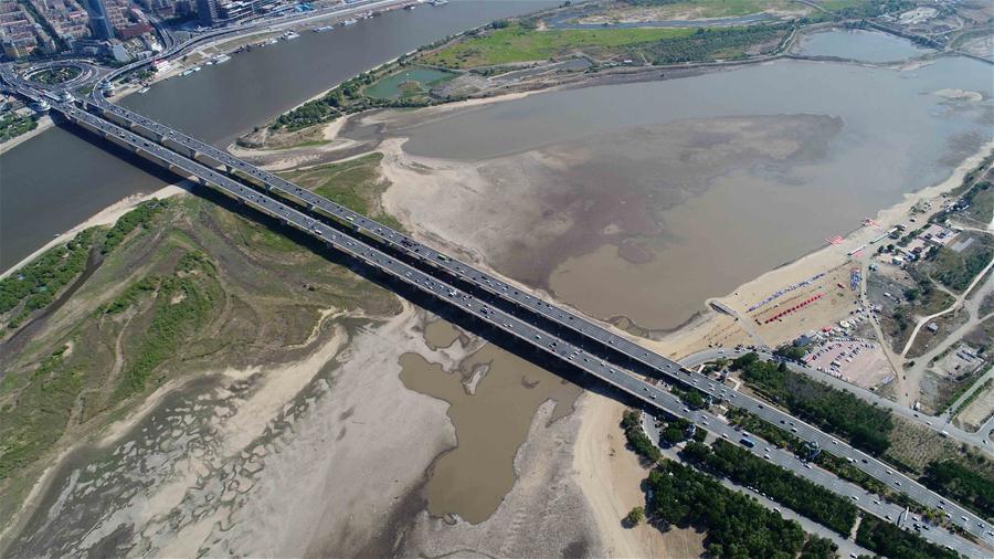 CHINA-HEILONGJIANG-SONGHUA RIVER-WATER LEVEL (CN)