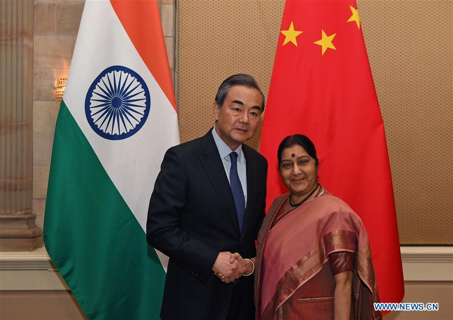 SOUTH AFRICA-PRETORIA-CHINA-INDIA-FM-MEETING