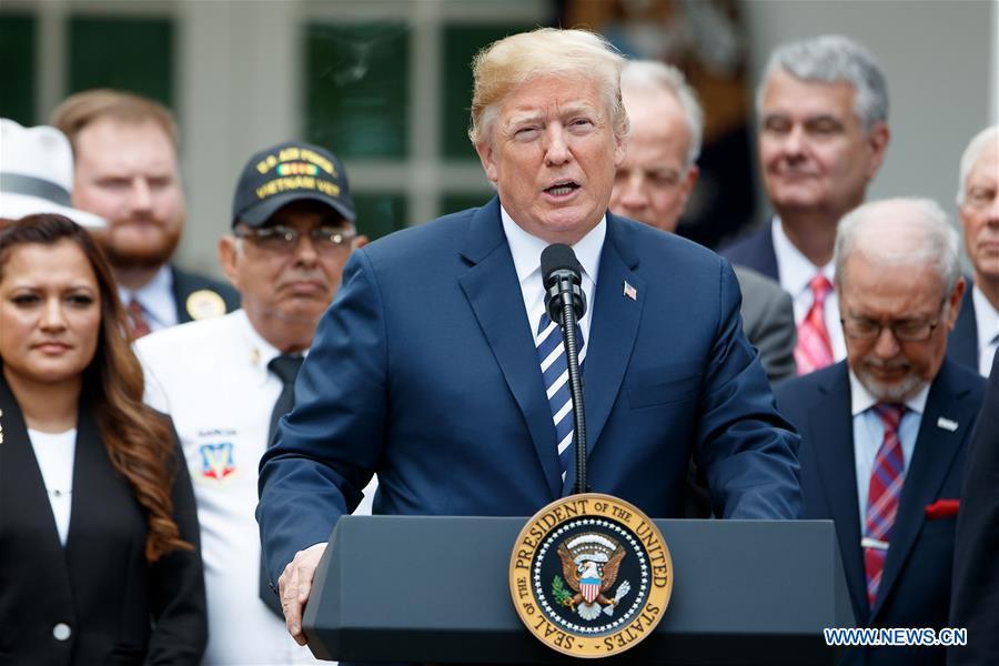 U.S.-WASHINGTON D.C.-TRUMP-VA MISSION ACT-SIGNING