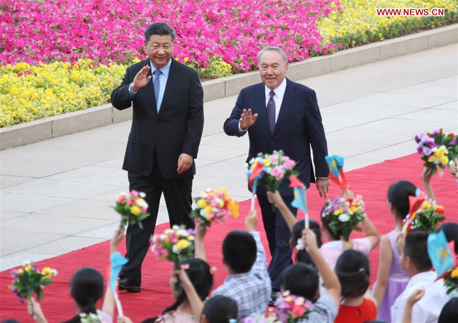 CHINA-BEIJING-XI JINPING-KAZAKH PRESIDENT-TALKS (CN)