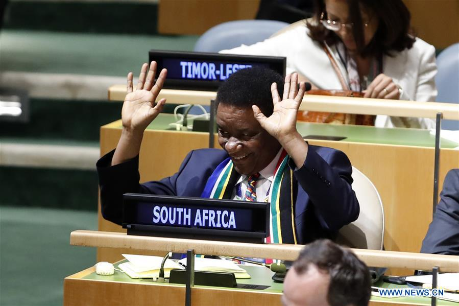S. Africa, Indonesia, Dominican Republic, Belgium, Germany elected to UN  Security Council - Xinhua | English.news.cn