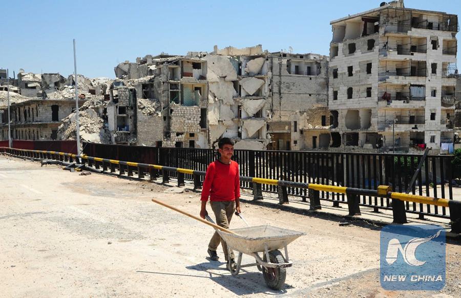 Spotlight Syria S Aleppo Under Broader Reconstruction Process