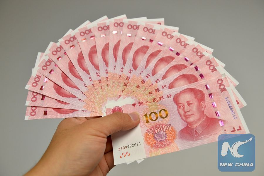 File Photo Shows Chinese Currency Rmb Or Yuan Xinhua
