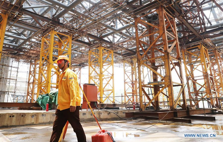 CHINA-SHANGHAI-PLANETARIUM-CONSTRUCTION (CN)