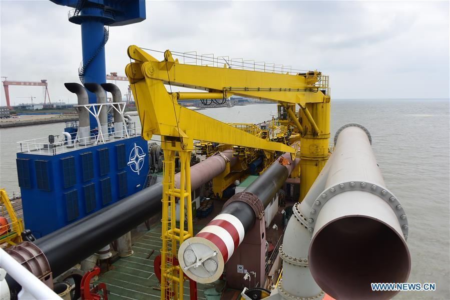 CHINA-JIANGSU-LARGE DREDGING VESSEL-SEA TRIAL (CN)