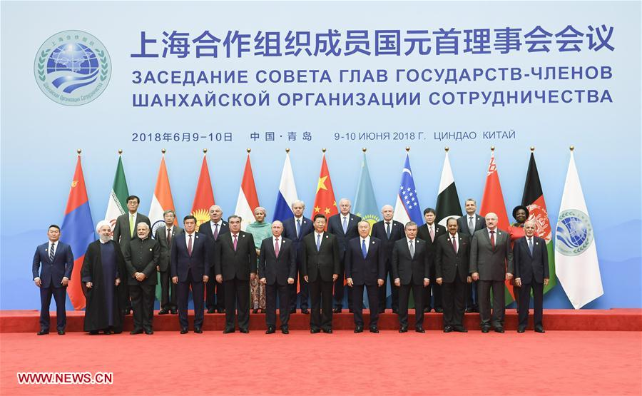 (SCO SUMMIT) CHINA-QINGDAO-SCO-SUMMIT-GROUP PHOTO (CN)