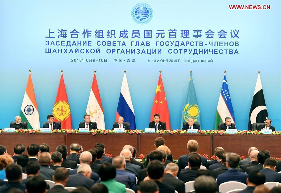 (SCO SUMMIT) CHINA-QINGDAO-XI JINPING-SCO-JOINT PRESS CONFERENCE (CN)