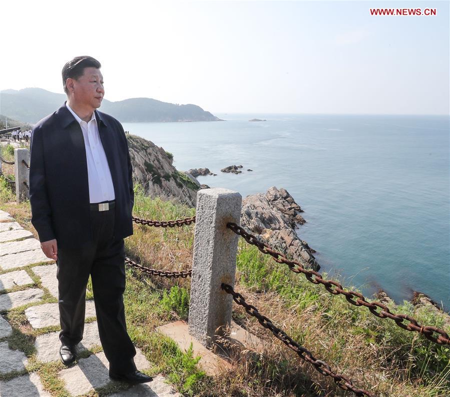 CHINA-SHANDONG-WEIHAI-XI JINPING-INSPECTION (CN)