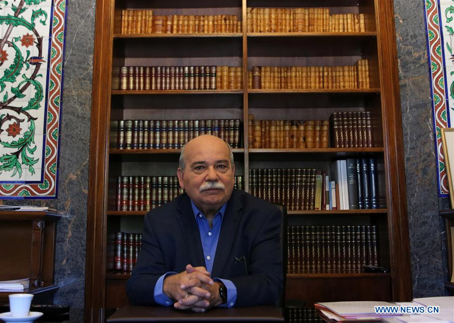 GREECE-ATHENS-PARLIAMENT SPEAKER-INTERVIEW