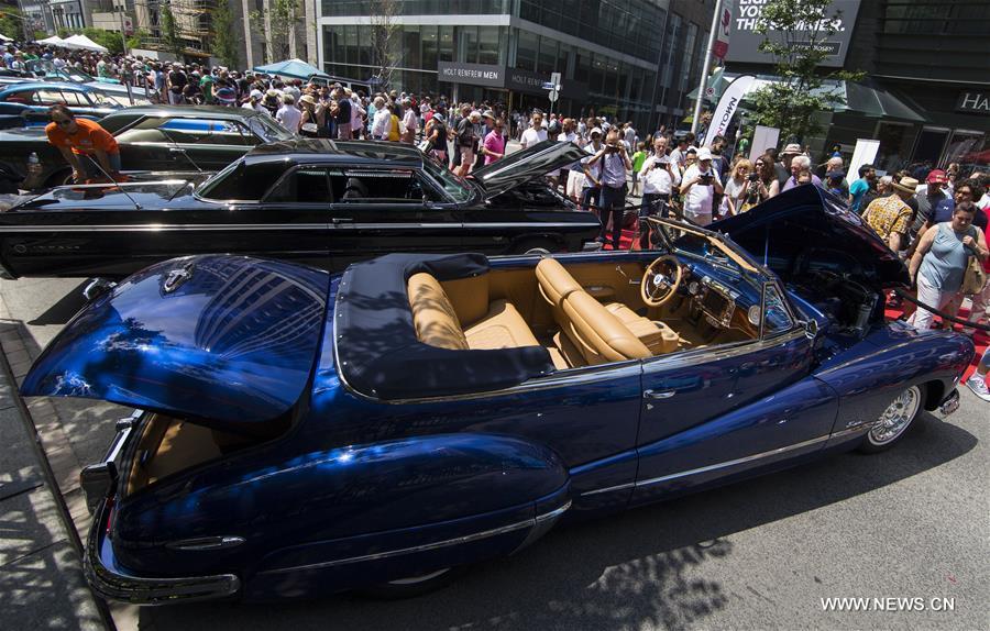 Yorkville Exotic Car Show Kicks Of In Toronto Xinhua - Exotic car show near me