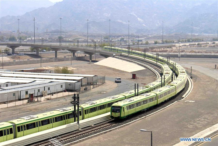 Chinese company starts testing Mecca Light Rail for upcoming