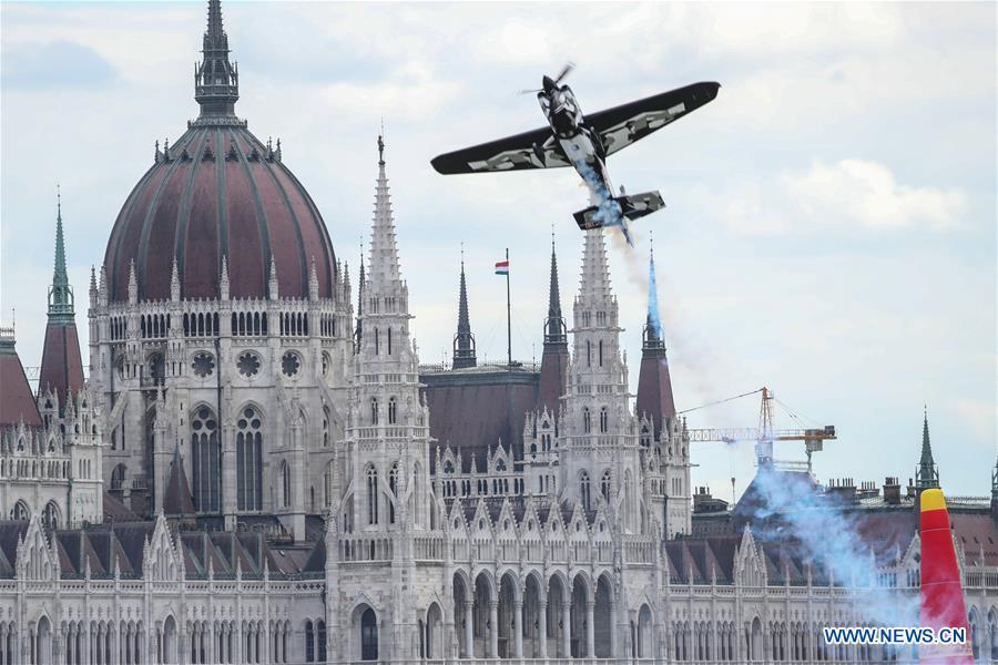 Red Bull Air Race World Championship held in Budapest