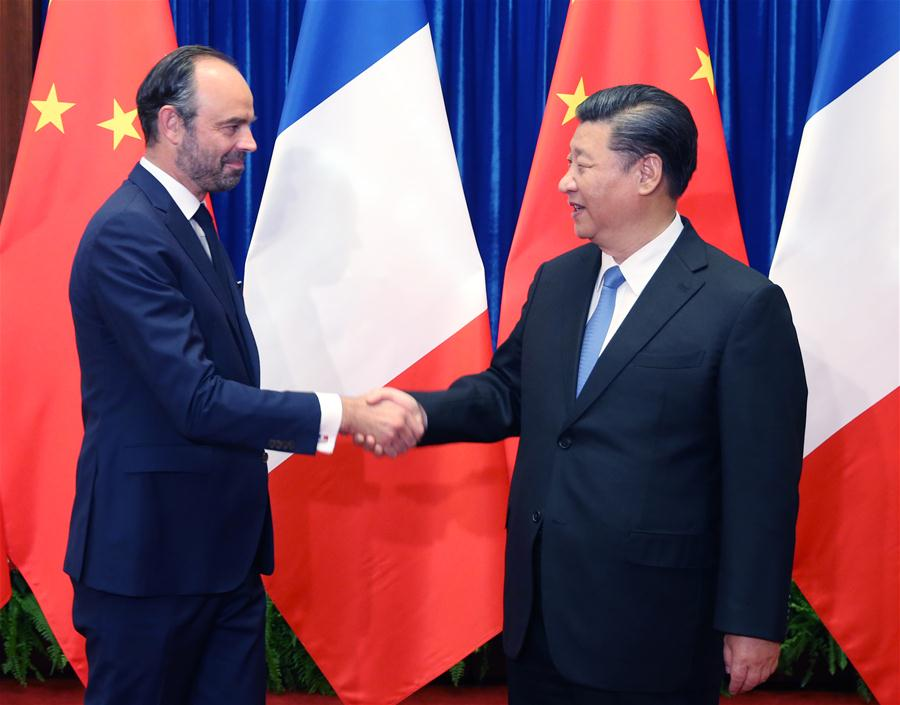 CHINA-BEIJING-XI JINPING-FRENCH PM-MEETING (CN)