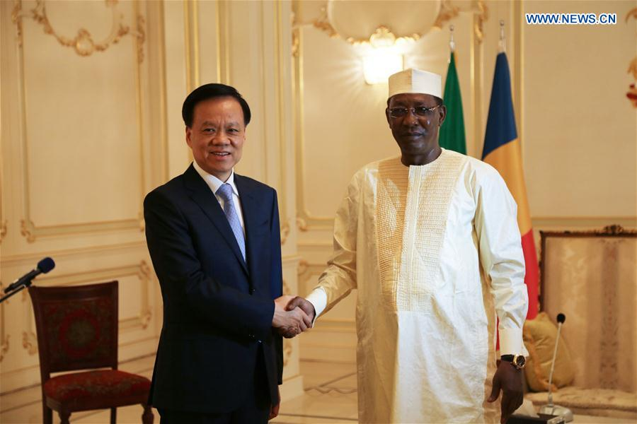 CHAD-N'DJAMENA-CHINA-VISIT