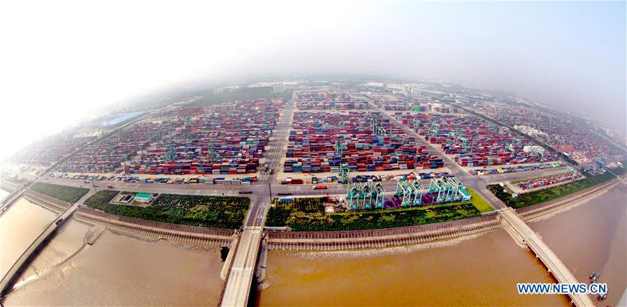 CHINA-SHANGHAI-PUDONG-AERIAL VIEW (CN)