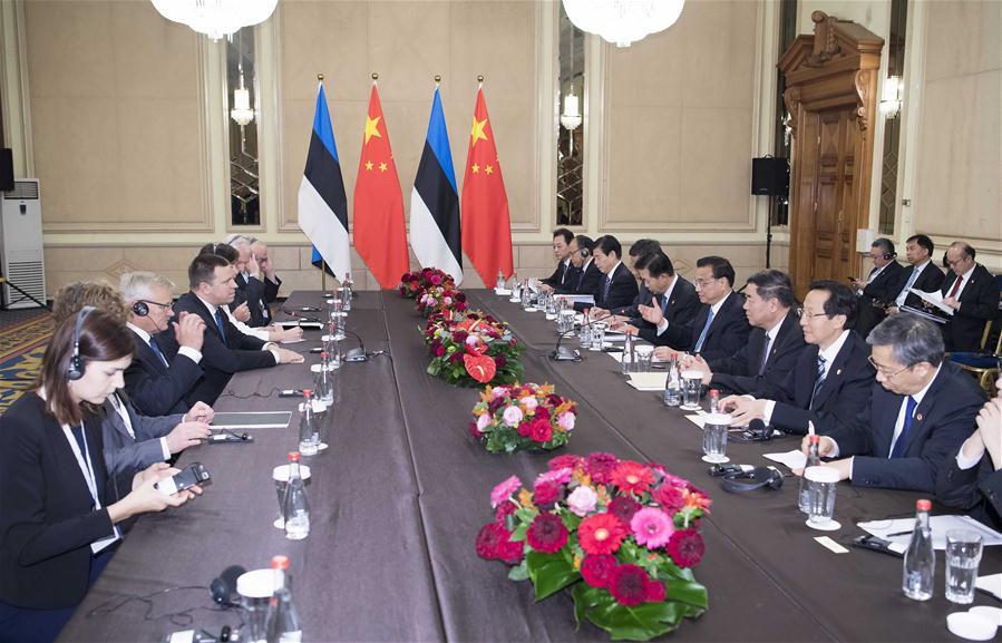 BULGARIA-SOFIA-LI KEQIANG-ESTONIAN PM-MEETING