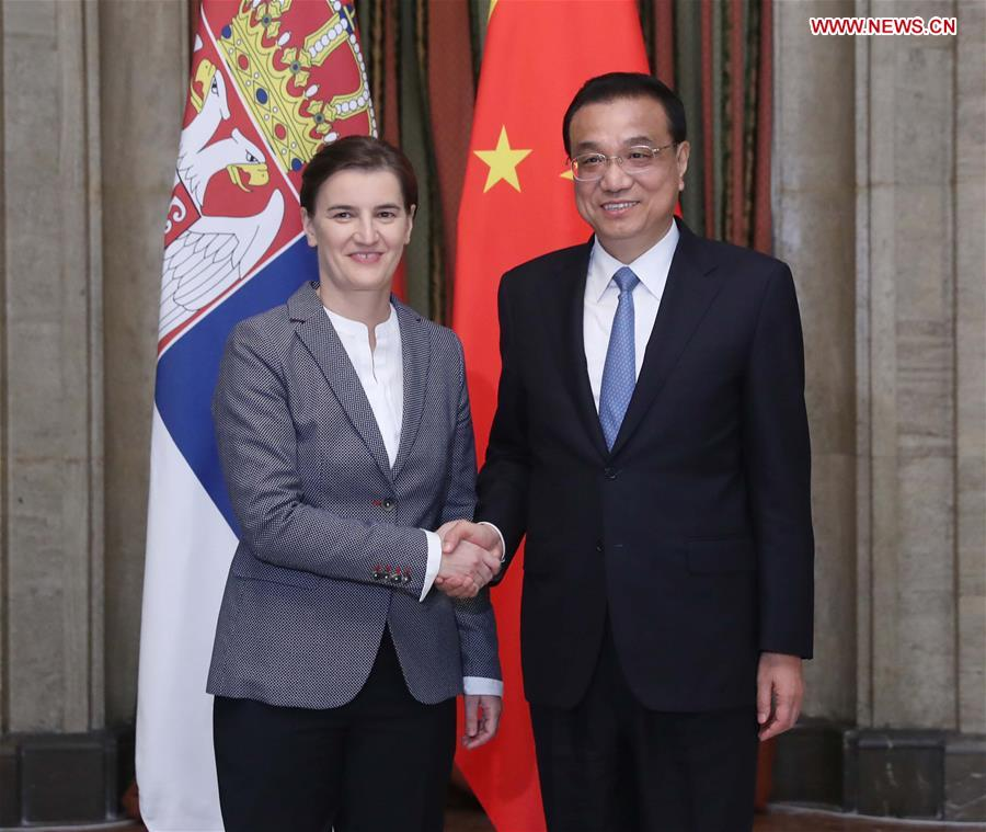 China Serbia Vow To Further Boost