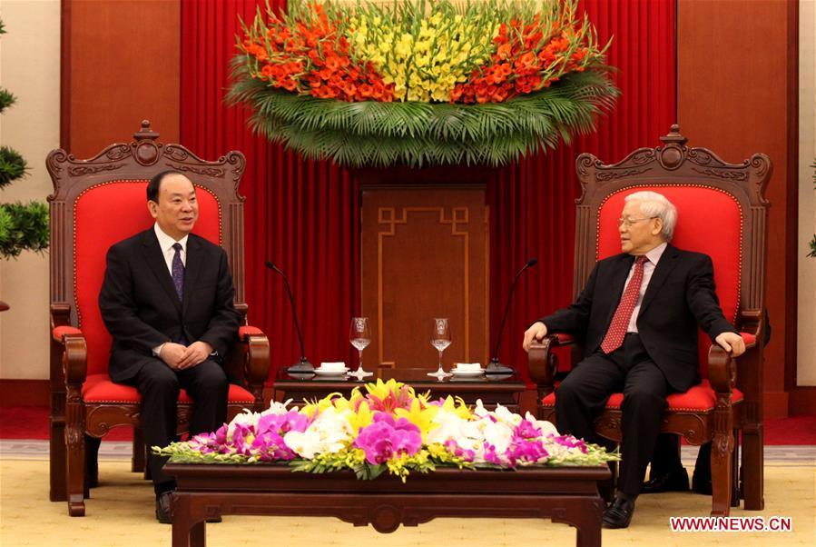 VIETNAM-CHINA-HUANG KUNMING-VISIT