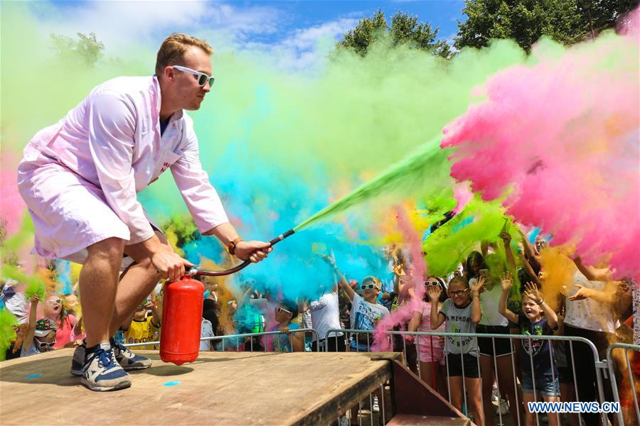 POLAND-MIKOLAJKI-COLOR RUN