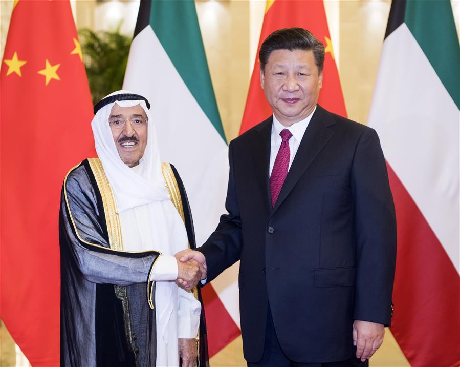 CHINA-BEIJING-XI JINPING-KUWAIT-EMIR-WELCOMING CEREMONY (CN)
