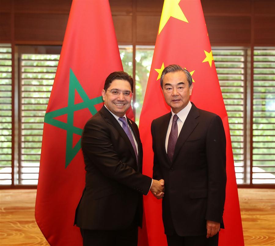 CHINA-BEIJING-WANG YI-MOROCCO-FM-TALKS (CN)