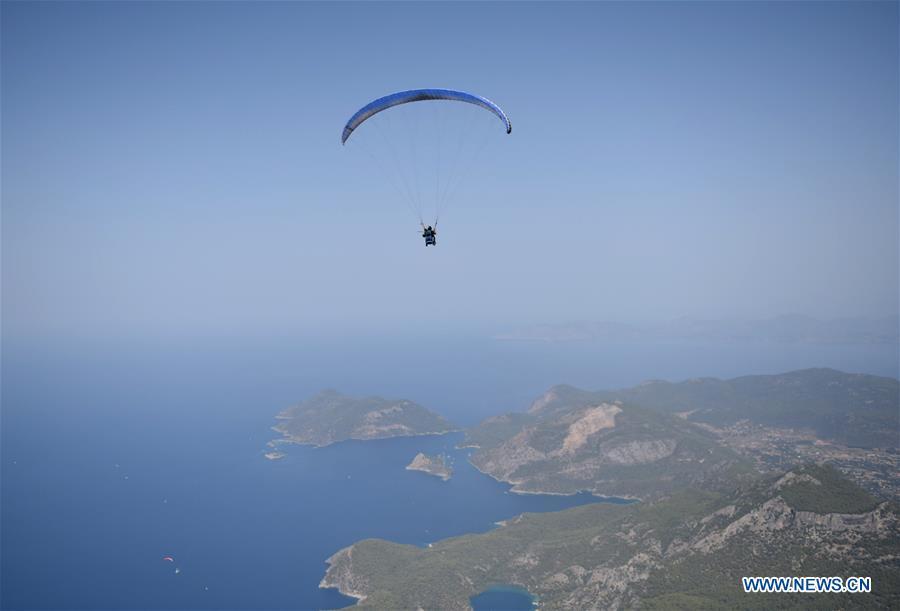 TURKEY-MUGLA-FETHIYE-TOURISM