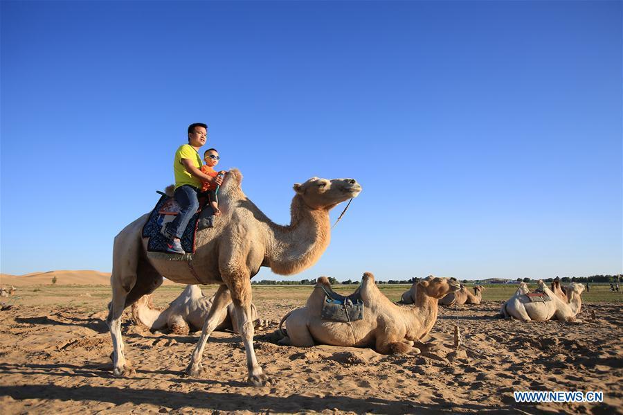 CHINA-INNER MONGOLIA-DESERT-TOURISM (CN)
