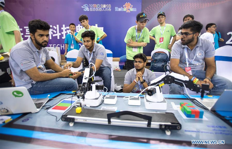 robotics world essay contest Three secondary school students will represent nigeria at the world adolescent robotics competition in china the students - tawakalitu giwa, oluwaseun omotayo and ayomide the students, nan reports, were part of nigeria's team to the first global robotic olympics in washington dc in 2017.
