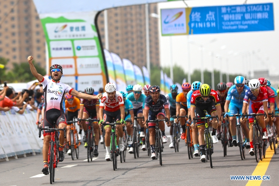 Highlights of 12th stage of Tour of Qinghai Lake - Xinhua | English