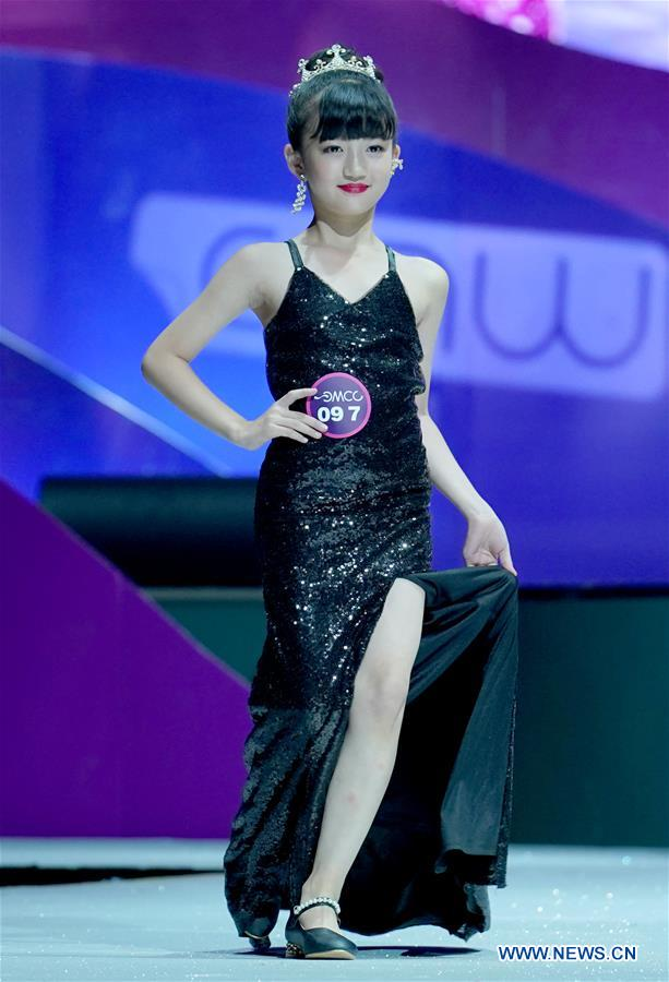 National kids model contest held in Chongqing, SW China