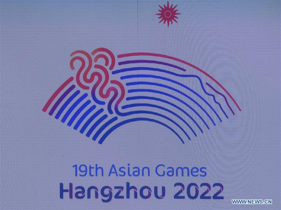 (SP)CHINA-HANGZHOU-19TH ASIAN GAMES-EMBLEM(CN)