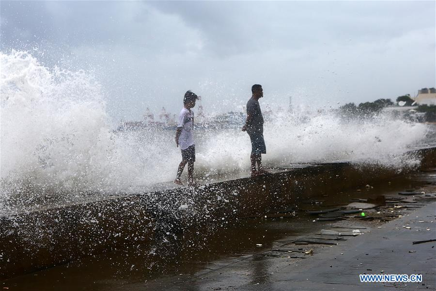Typhoon Yagi brings gales and heavy rain in parts of Metro