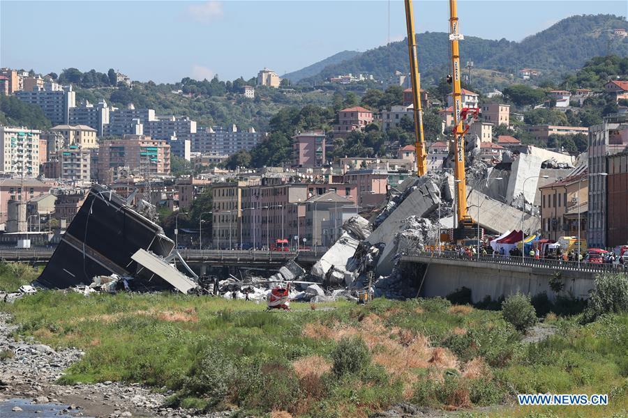 Death toll in Genoa's bridge collapse rises to 31 as rescue