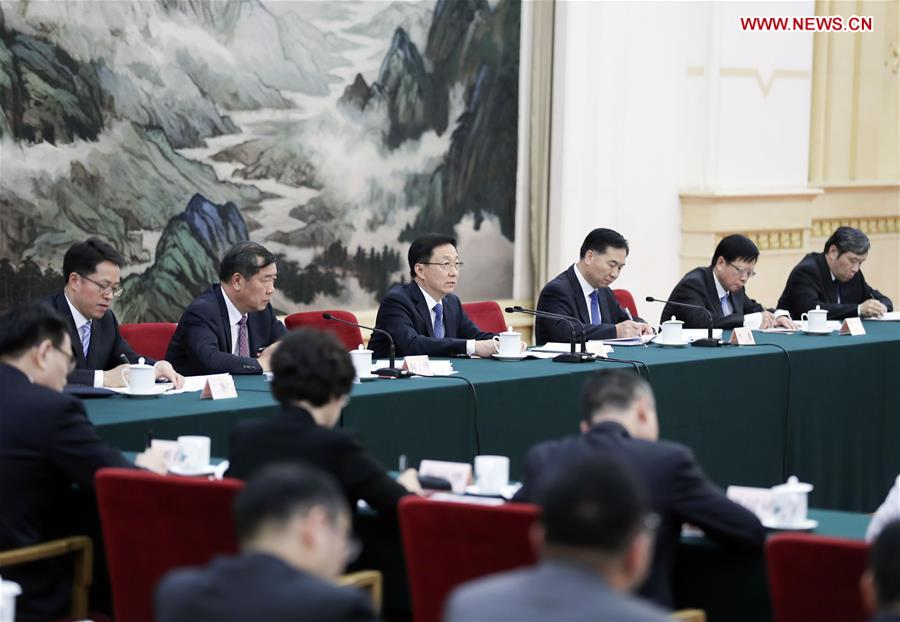 CHINA-BEIJING-HAN ZHENG-MEETING (CN)