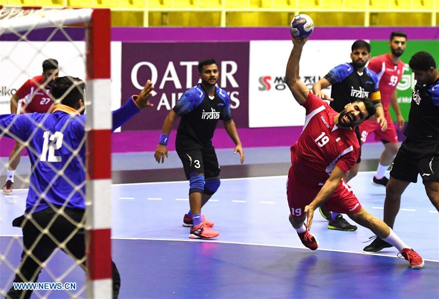Bahrain beats India 32-25 during Men's Handball match at Asian Games