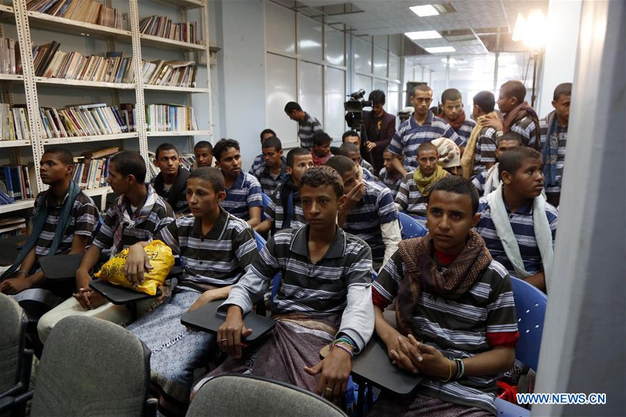Yemen's Houthi rebels hand 31 child soldiers to ICRC - Xinhua